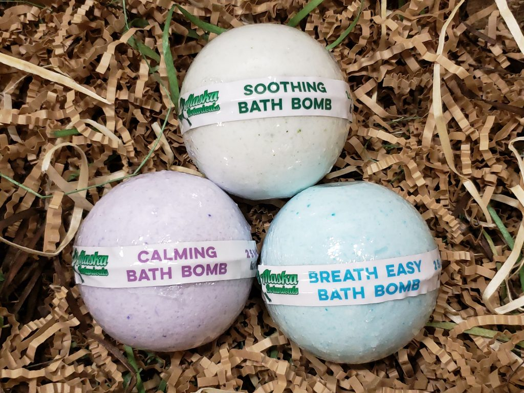 CBD Bath Bomb (Mixed 3 Pack)